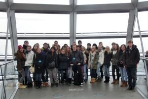 Photo de groupe au Bundestag